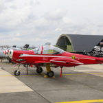 SF-260 de los Red Devils de la BAF. Foto: @Eddie Jauck