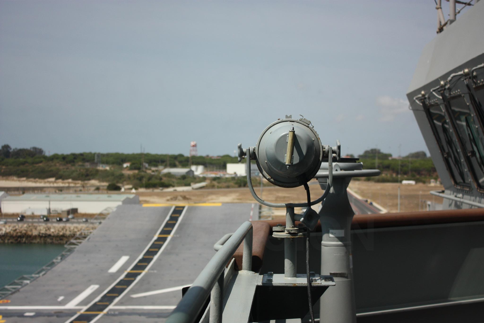 Vista de la rampa de despegue desde el primario de vuelo. Fuente: Hispaviación
