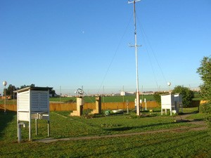 Jardín meteorológico (Fuente:AEMET)