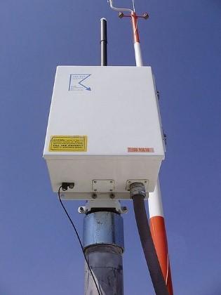 Detector de descargas eléctricas (Fuente NOAA)