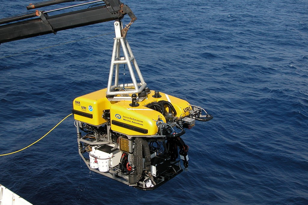 ROV Hércules. (Fuente: http://es.wikipedia.org/wiki/Remotely_operated_vehicle)