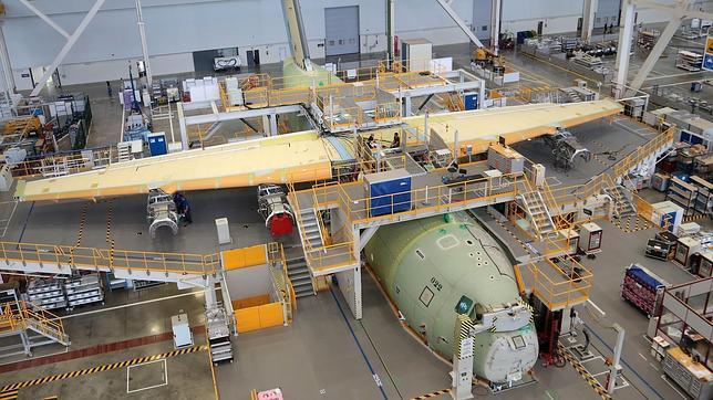 Fase de ensamblaje del A-400M
