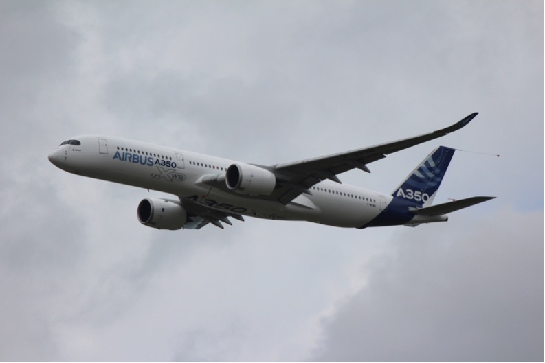 First Flight Airbus A350X