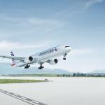 B-777-300ER de American Airlines que opera la ruta Dallas Forth Worth – Hong Kong en 16 horas y 20 minutos.