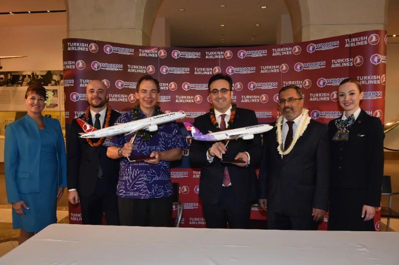 Acuerdo Turkish-Hawaiian foto