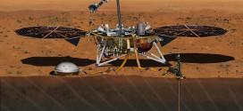 Módulo de aterrizaje de la misión InSight. Image Credit: NASA/JPL-Caltech