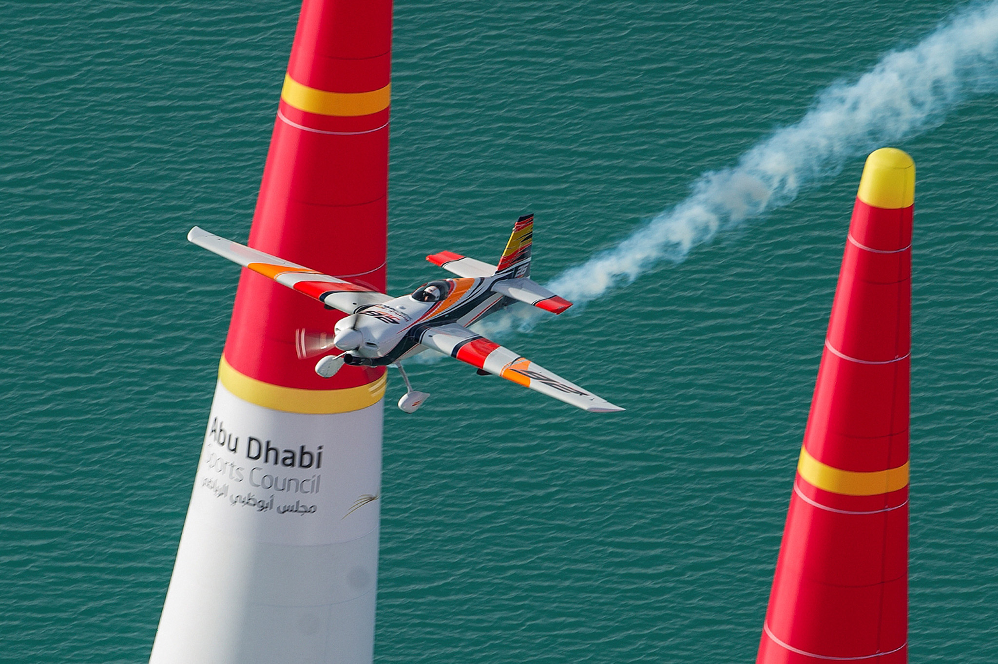 Juan Velarde en Red Bull Air race