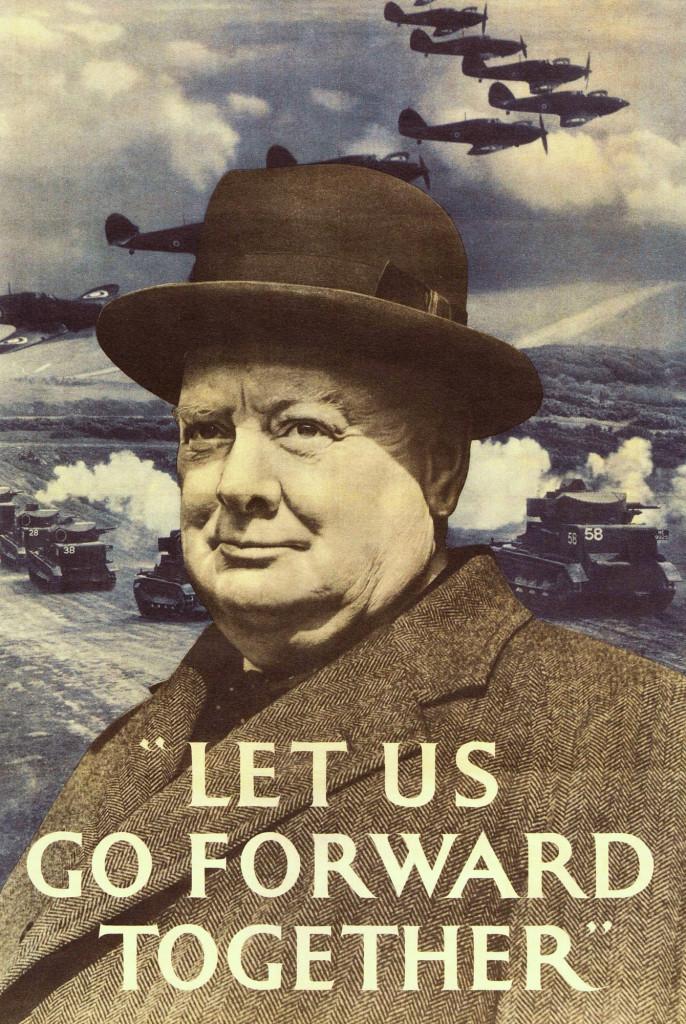 Winston Churchill: el alma de la resistencia británica frente al poderío del Tercer Reich. Sin su inquebrantable determinación probablemente los británicos hubiesen acabado pidiendo la paz tras la derrota de Francia