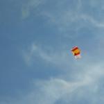 Paracaidista PAPEA a 2.000 metros