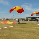 Paracaidistas PAPEA en base Aérea Alcantarilla