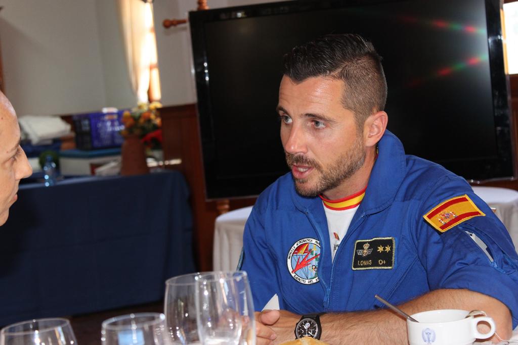 Teniente José Luis Lomas, Jefe de la Patrulla PAPEA