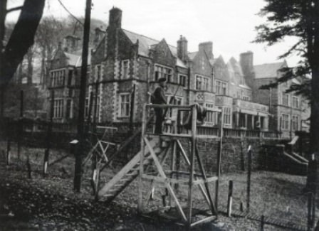 Campo de Prisioneros número 1, en Grizedale Hall, Lancashire