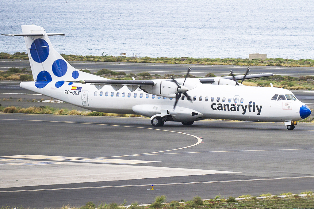 EC-GQF Canary Fly