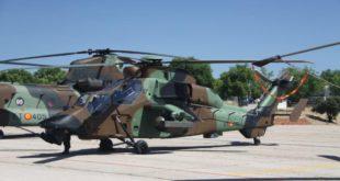 Helicóptero Tigre. Foto: Julio Alcalá