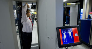SCHIPHOL-SECURITYSCAN