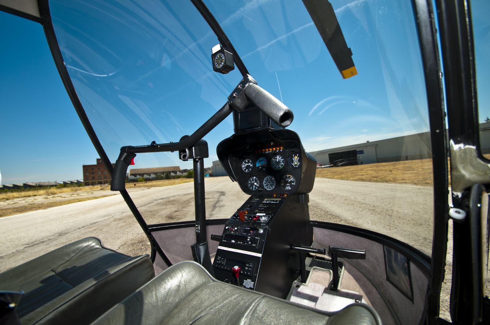 Cabina helicópero European Flyers