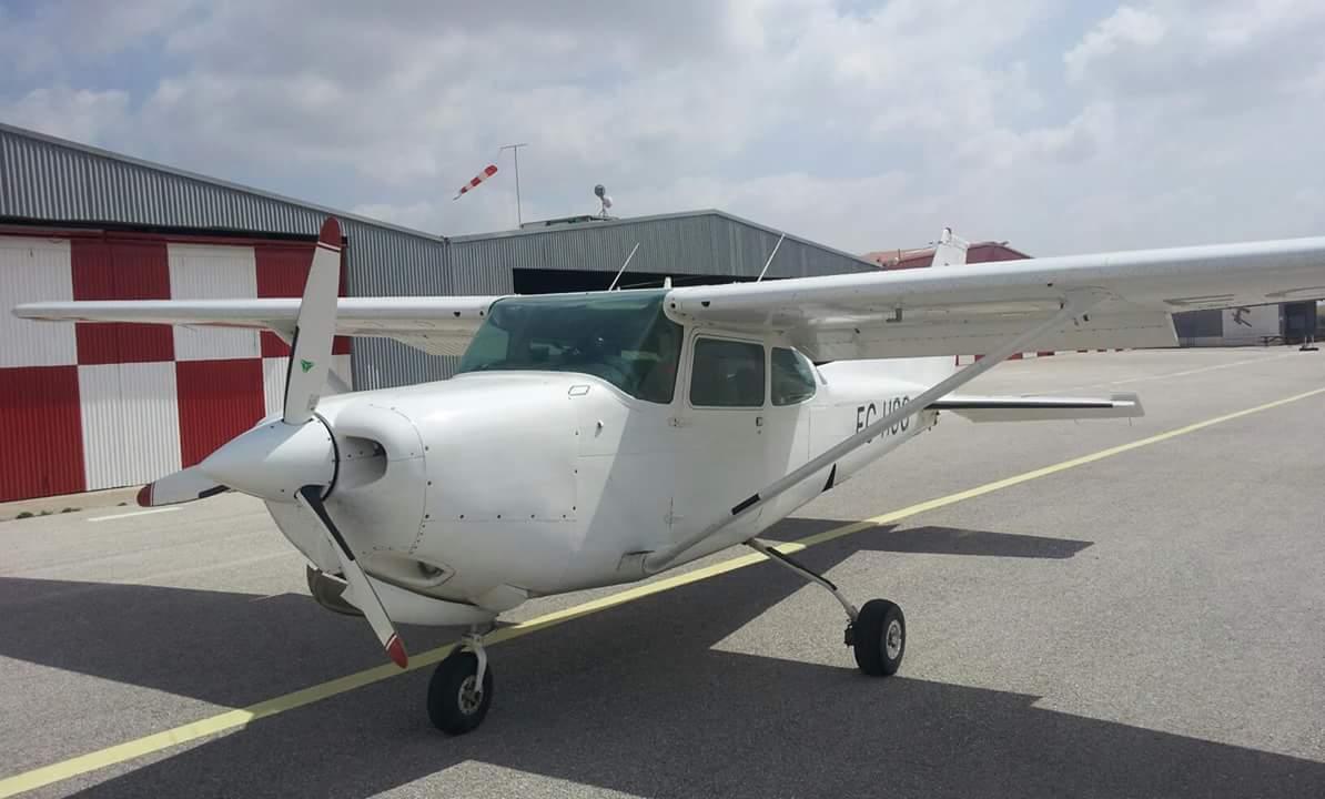Cessna 172 Cutlass RG II. Monomotor avanzado empleado en la instrucción de FI(A). Fuente: foto propia