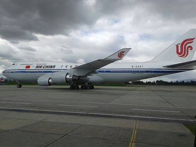 Avión 747 Air China