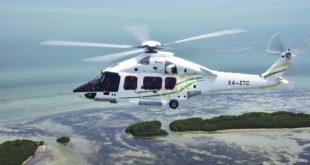 El H175 vuela al servicio de la industria del petróleo en el Mar del Norte y en África Occidental