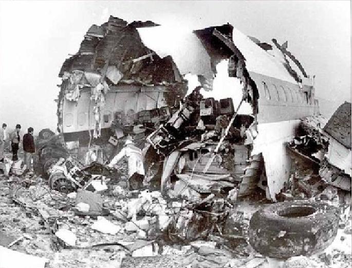 Imagen del periódico Excelsior en el 35 aniversario del accidente