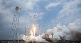Lanzamiento del cohete Antares. Photo: NASA/Bill Ingalls