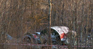Accidente del Tu-154 en smolensk. foto: wikipedia