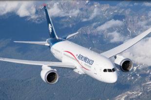 12 vuelos semanales AEROMÉXICO