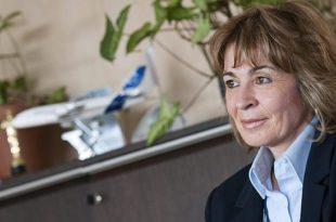 Mª Teresa Busto,Directora Planta Illescas. Airbus.