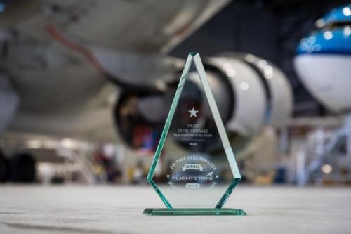 KLM flightstats punctuality award
