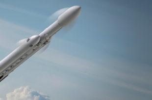 Cohete Falcon Heavy de SpaceX