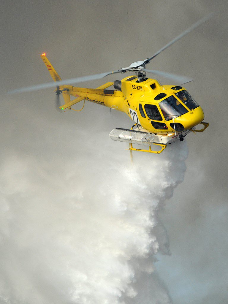 heli incendios forestales