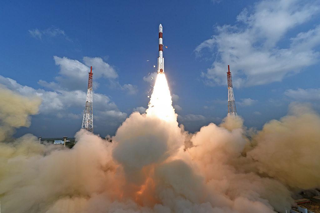 India cohete pslv-c37