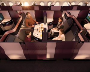 family-suite Qatar Airways