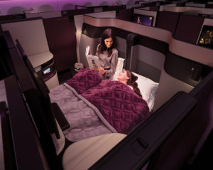 nueva Clase Business Qatar Airways