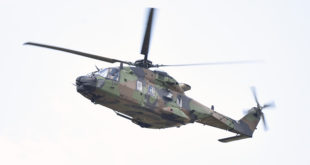 NH90 de las FAMET. Foto: Thales