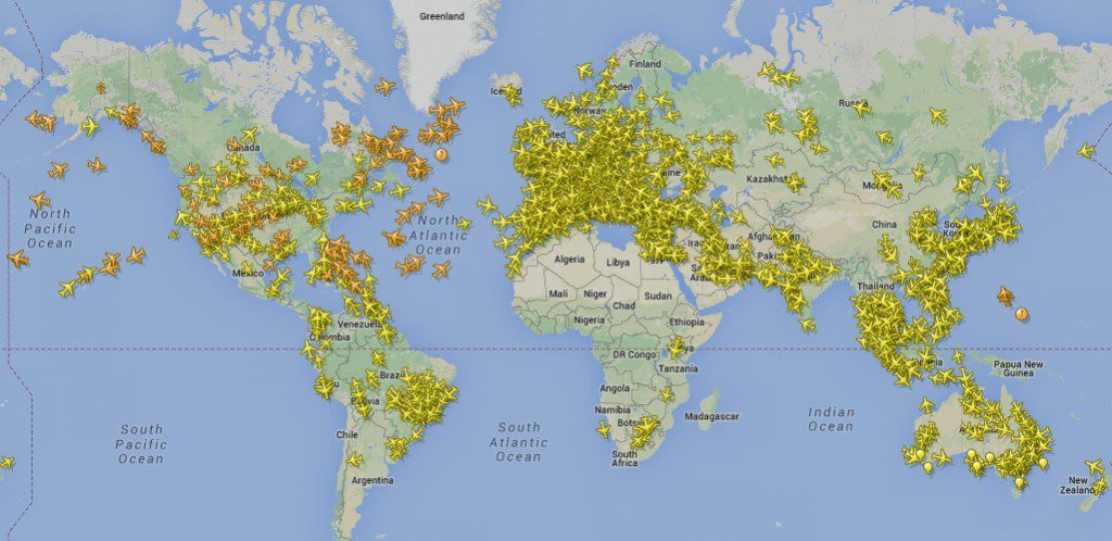 Real-time-aircraft-tracking