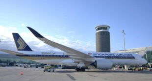 Singapore Airlines A350 Barcelona