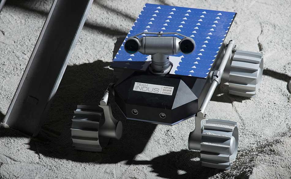 Rover Lunar de TeamIndus