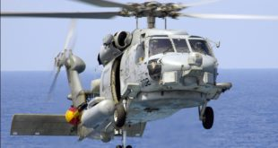 Helicóptero SH-60B similar a la variante F adquirida. Foto: Armada Española