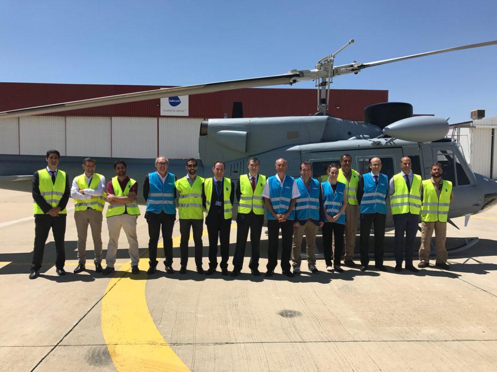 cuarta unidad modernizada del helicóptero AB212