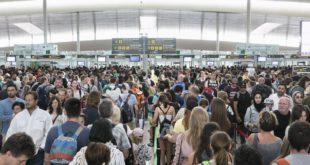 Controles de seguridad en El Prat