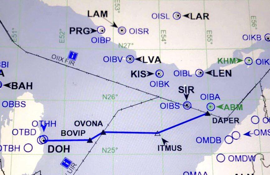 ruta UAE