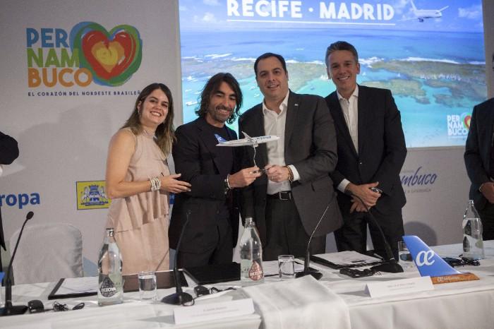 Air Europa conectará Madrid y Recife