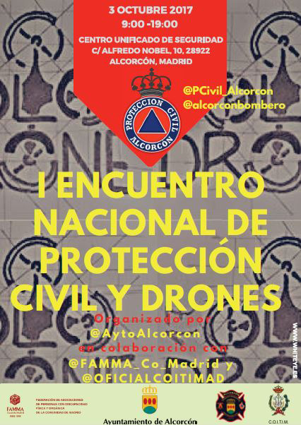DRONES y Protección Civil