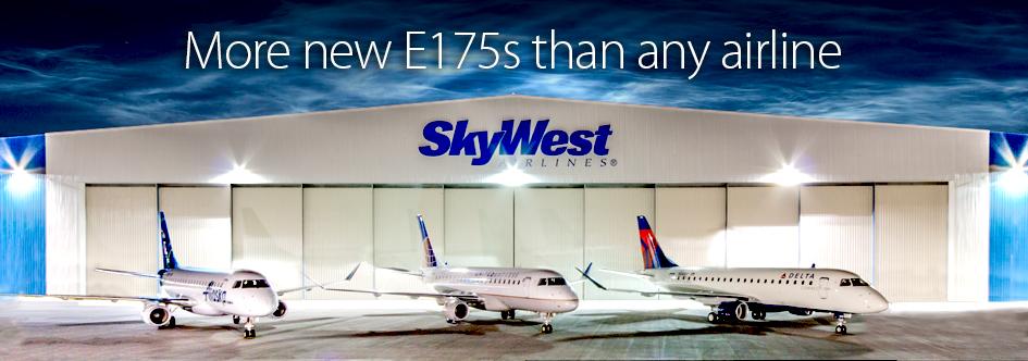SkyWest E175