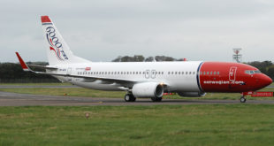 base en Dublín Norwegian