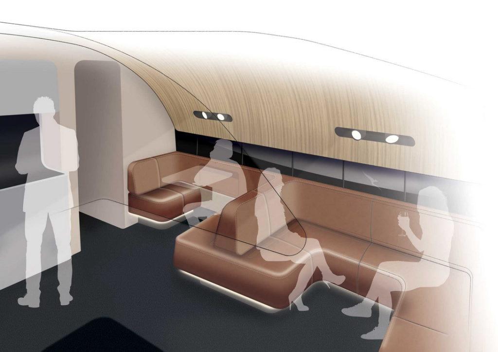 Qantas QF A380 Cabin Upgrade Economy