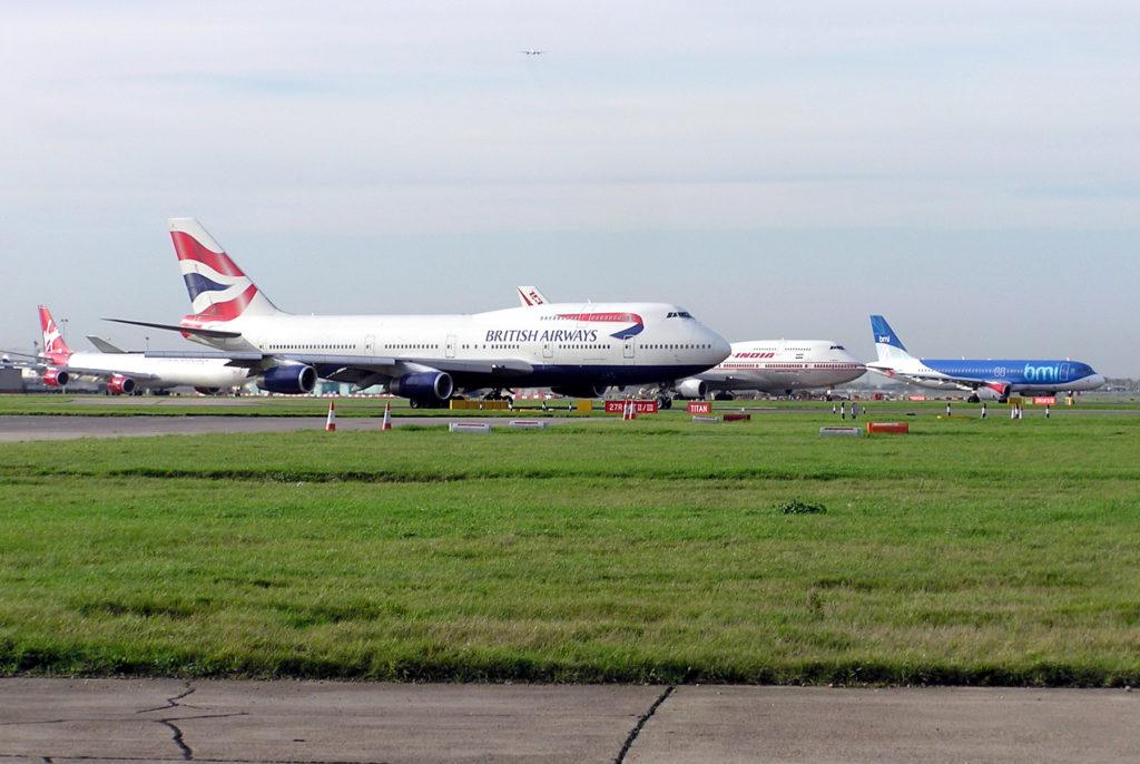 aeropuertos europeos London