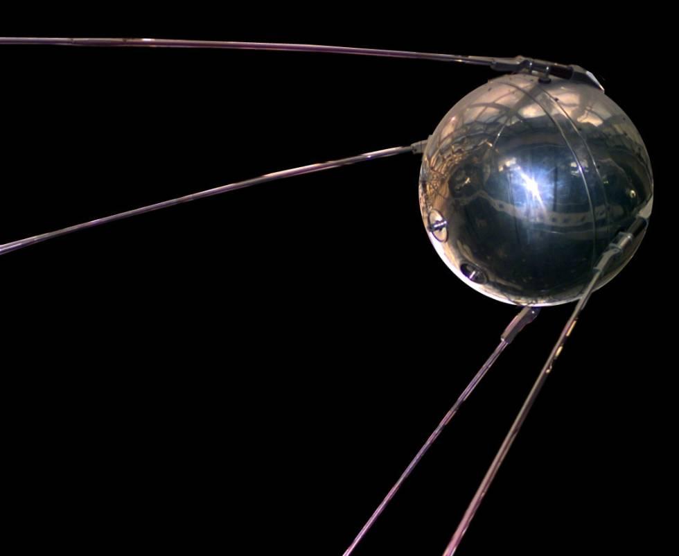 primer satélite sputnik 1