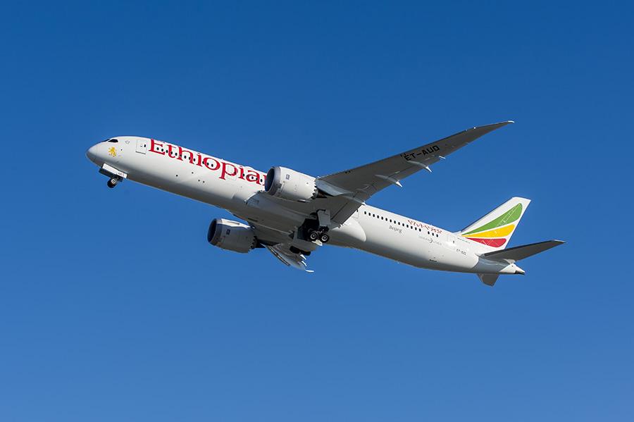 787-9 ILF-ETH #621-ZB265 Flyaway